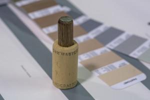 Corcho Oak Master en prueba de color para impresión
