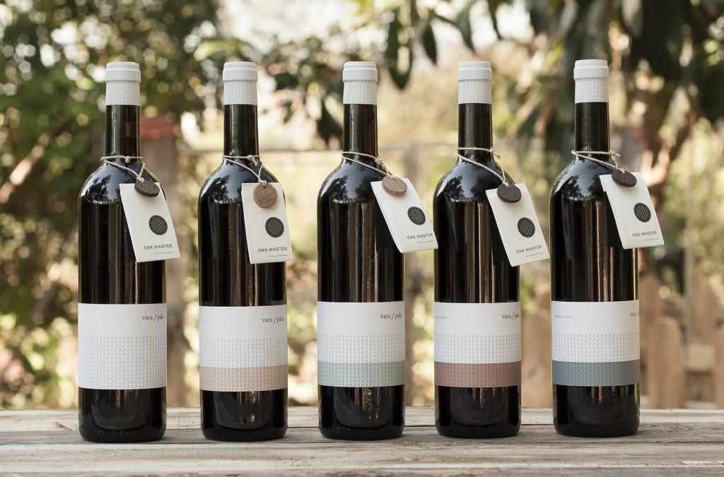 Diseño de una etiqueta de vino