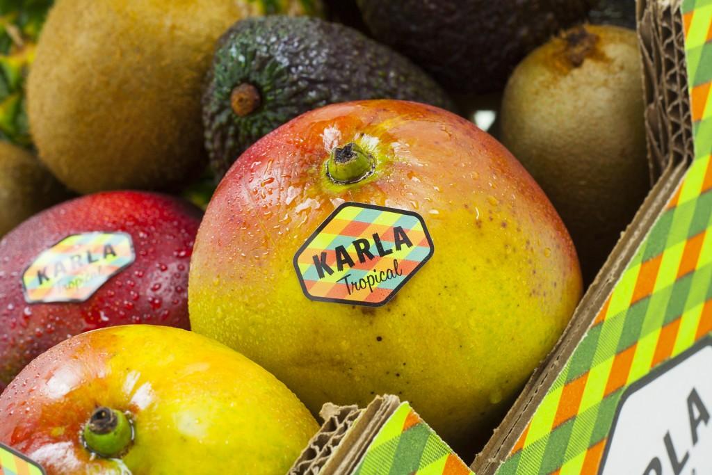 Diseño de Etiqueta de Fruta