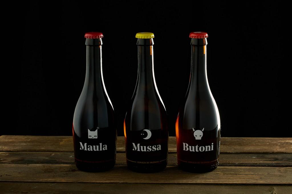 diseño de etiqueta de cerveza